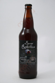 Brew Rebellion Blueberry Tart Sour Ale 22fl oz
