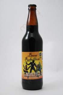 Brew Rebellion Hanging With My Peeps Milk Stout 22fl oz