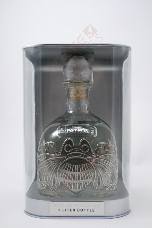 Patron 2015 Limited Edition Silver Tequila 1l Morewines