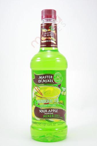 Master of Mixes Sour Apple Martini Mixer 1L
