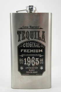Casa Maestri 1965 Flask Edition Blanco Tequila 750ml
