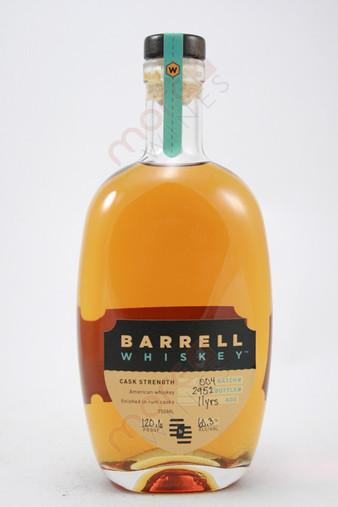 Barrell Craft Spirits Barrel Cask Strength American Whiskey 750ml