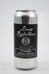 Brew Rebellion Summer Rebellion IPA 16fl oz