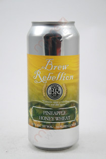 Brew Rebellion Pineapple Honey Wheat 16fl oz