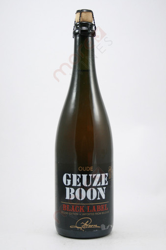 Brouwerij Boon Oude Geuze Boon Black Label Lambic 750ml
