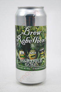 Brew Rebellion Pineapple Gose 16fl oz