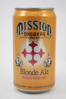 Mission Blonde Ale 25fl oz