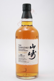 The Yamazaki Mizunara Japanese Oak Cask 18 Year Old Single Malt Whisky 750ml