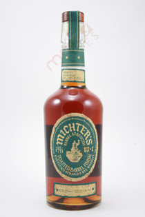 Michter's Barrel Strength Toasted Barrel Finish Whiskey 750ml