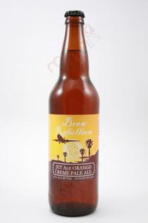 Brew Rebellion Jet Ale Orange Creme Pale Ale 22fl oz