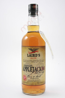 Laird's Straight Applejack 86 Proof Apple Brandy 750ml