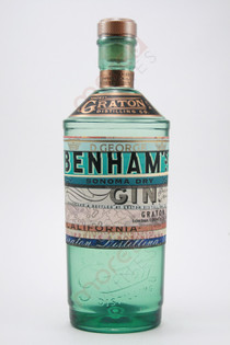 Graton Distilling Co. D. George Benham's Sonoma Dry Gin 750ml