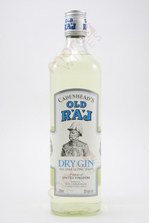 Cadenhead's Old Raj Dry Gin 750ml