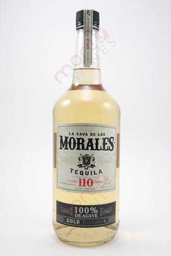 La Cava de los Morales 110 Proof Gold Tequila 1L
