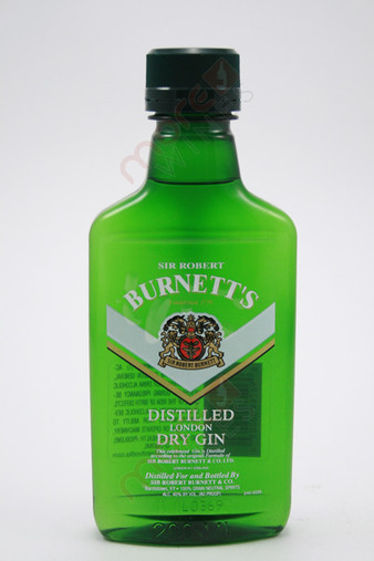 Burnett's London Dry Gin 200ml