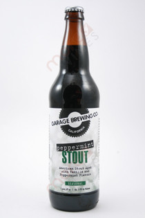 Garage Brewing Peppermint Stout 22fl oz