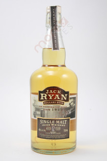 Jack Ryan Beggars Bush 12 Year Old Single Malt Whiskey 750ml