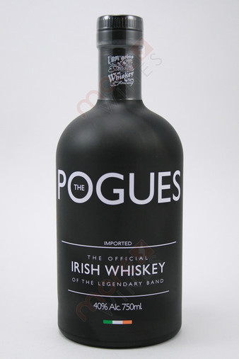 The Pogues Irish Whiskey 750ml