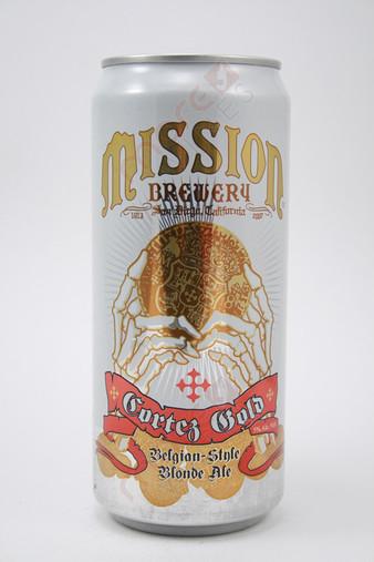 Mission Cortez Gold Belgian-Style Blonde Ale 32fl oz
