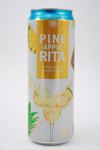Bud Light Lime Pine Apple Rita Pineapple Margarita Malt Beverage 24fl Oz
