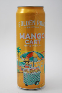 Golden Road Brewing Tart Mango Cart Wheat Ale 25fl oz