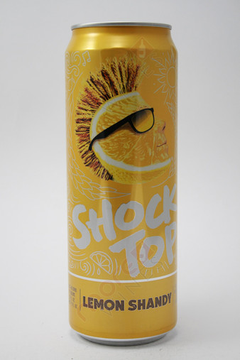 Shock Top Lemon Shandy Belgian Style Wheat Ale 25fl oz