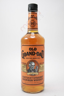 Old Grand Dad Bounded High Rye Mash Bill Kentucky Straight Bourbon Whiskey 750ml
