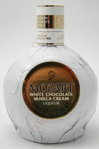 Mozart Premium White Chocolate Vanilla Cream Liqueur 750ml