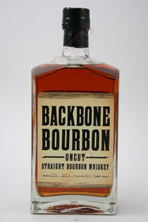 Backbone Uncut Straight Bourbon Whiskey 750ml