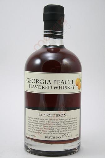 Leopold Bros Georgia Peach Flavored Whiskey 750ml