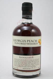 Leopold Bros Georgia Peach Flavored Whiskey 750ml