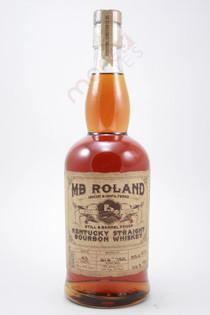 MB Roland Still & Barrel Proof Kentucky Straight Bourbon 750ml