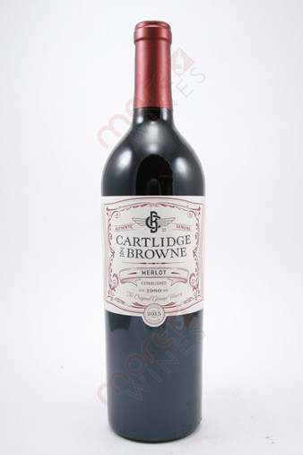 Cartlidge & Browne Merlot 750ml