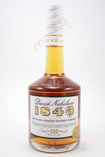 David Nicholson 1843 Bonded Kentucky Straight Bourbon Whiskey 750ml