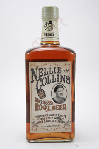 Nellies Collins Backwoods Roots Beer Whisky 750ml