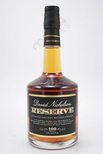 David Nicholson Reserve Kentucky Straight Bourbon Whiskey 750ml