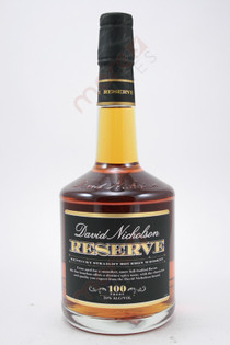 David Nicholson Reserve Kentucky Straight Bourbon Whiskey 750ml
