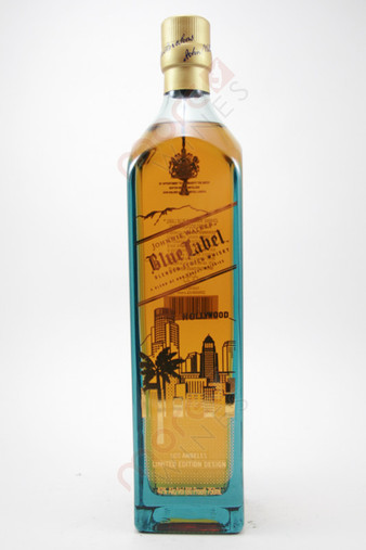 Johnnie Walker Blue Label Los Angeles Limited Edition Design Blended Scotch Whisky 750ml