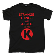 Strange Things Are Afoot At The Circle K Black T Shirt Bill and Ted's Black Tee
