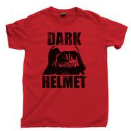 Dark Helmet T Shirt Spaceballs Movie Red Tee