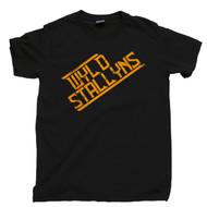 Wyld Stallyns Black T Shirt Wild Stallions Bill & Ted's Excellent Adventure Black Tee