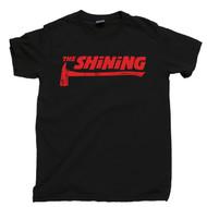 The Shining Axe Black T Shirt Jack Nicholson Stanley Kubrick The Shining Black Tee