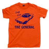 The General Lee Orange T Shirt 1969 Dodge Charger The Dukes Of Hazzard Orange Tee