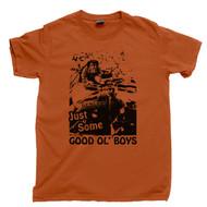 Dark Helmet T Shirt Spaceballs Movie Texas Orange Tee