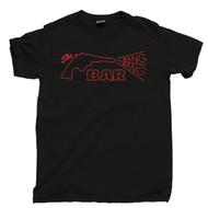 Twin Peaks T Shirt The Bang Bang Bar Roadhouse Agent Cooper Laura Palmer Donna Hayward Black Tee