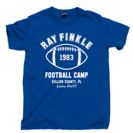 Ace Ventura T Shirt Pet Detective Ray Finkle Football Camp Laces Out Jim Carrey Movie Royal Blue Tee