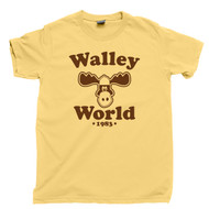 Griswold Vacation T Shirt Walley World 1983 National Lampoon's Vacation 80s Comedy Movie Yellow Haze Tee