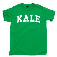Kale T Shirt | Vegetarian Vegan Veggie Lover Organic Plant Garden Herbivore Tee