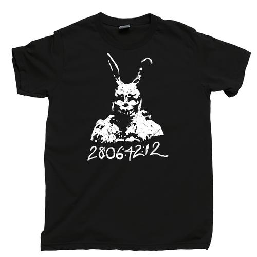 Donnie Darko T Shirt 28:06:42:12 Frank Bunny Rabbit Black Tee