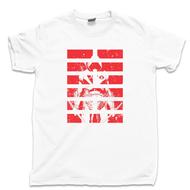 Storm Shadow T Shirt Arashikage Ninja Clan Cobra Snake Eyes G.I. Joe White Tee